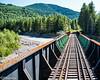 Bridge across the Nisqually River