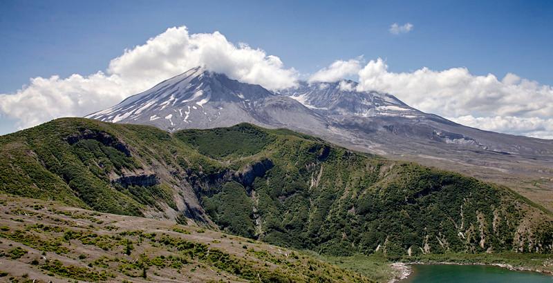 Mount St. Helens, east face
