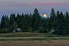 Full moon in Eatonville
