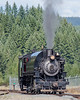 Mt rainier railroad steam engine
