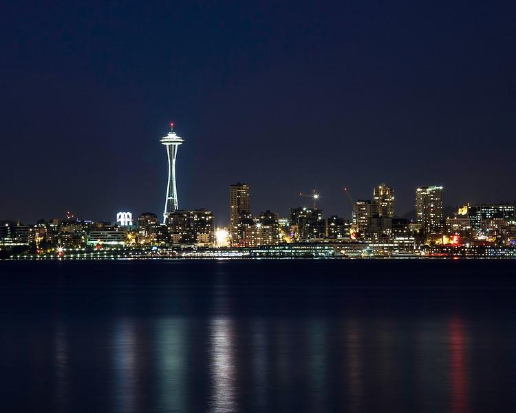 Seattle from Alki Point