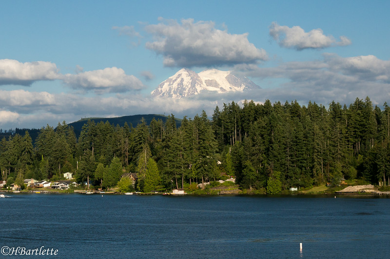 Mt. Rainier from Clear Lake
