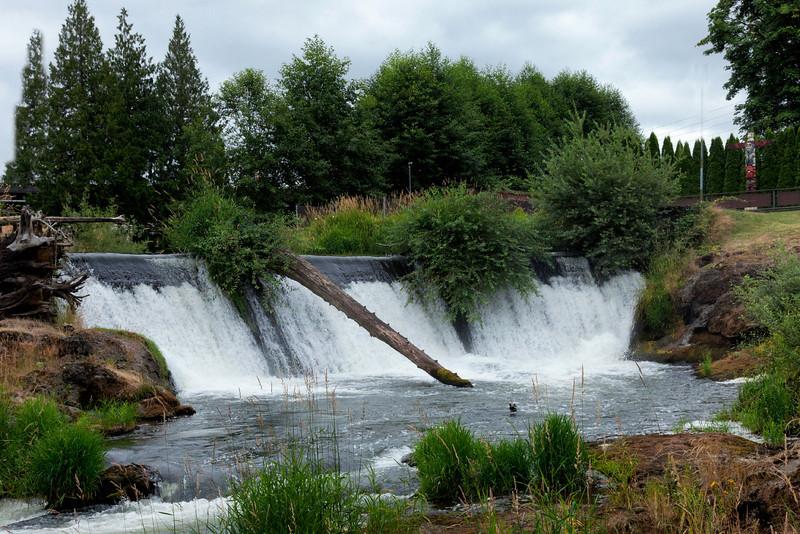 Tumwater Falls, Tumwater Washington