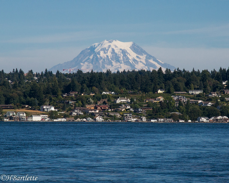Mt. Rainier from the Puget Sound