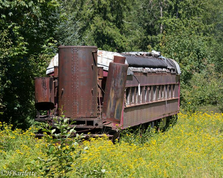 Left on the side track