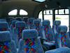 Comfy seats, huge windows...