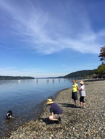 Seattle and Bainbridge August 2016