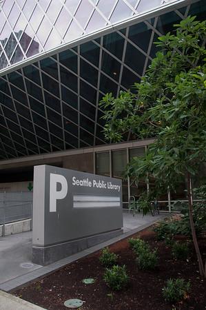 Seattle Public Library, a Rem Koolhaas building