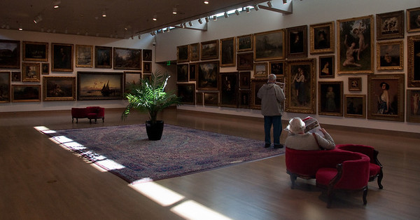 """at the Frye Museum (before I learned, """"no photos!"""")"""