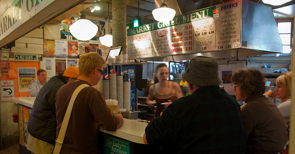 at the Pike Place Market