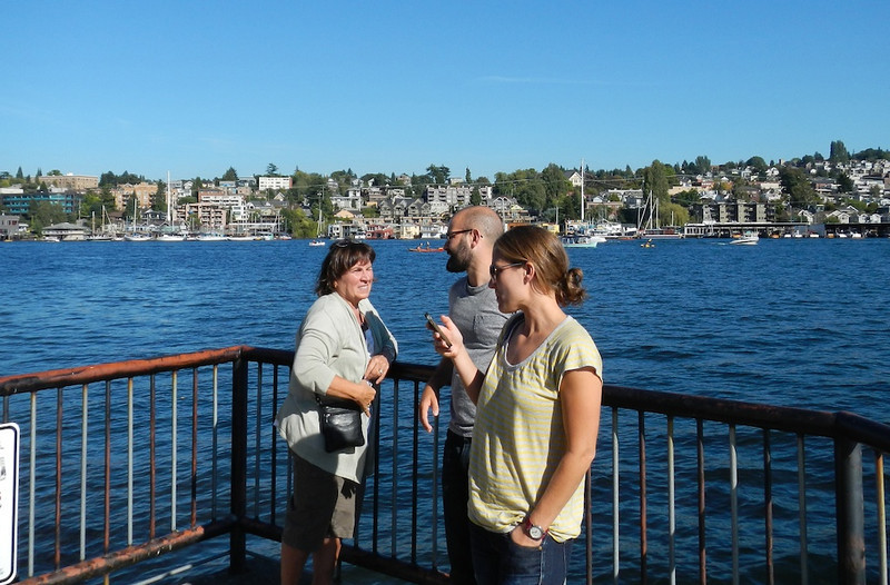 Denyse Jen and Joe at Lake Union 2