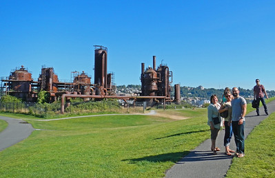 Denyse Jen and Joe at Gas Works Park