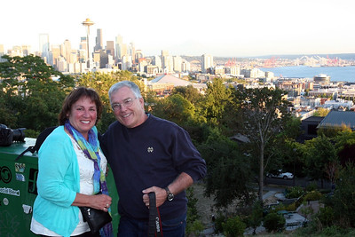 Denyse and Tom at Kerry Park