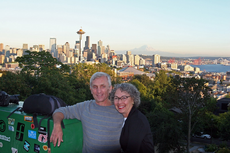 Joyce and Kenny at Kerry Park