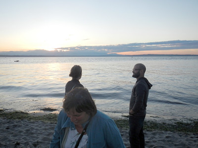 On the Beach at Golden Gardens