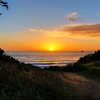 Pacific Sunset at Tillamook RockLight
