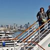 Seattle cruise - Matt & Erin