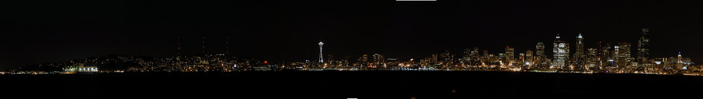 Seattle from Alki Beach