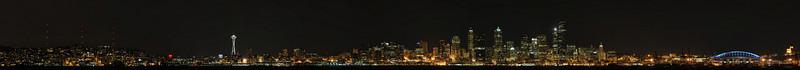 Seattle from Alki Beach.