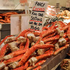 King Crab Legs - A pile of King Crab legs at Seattle's City Fish Market.