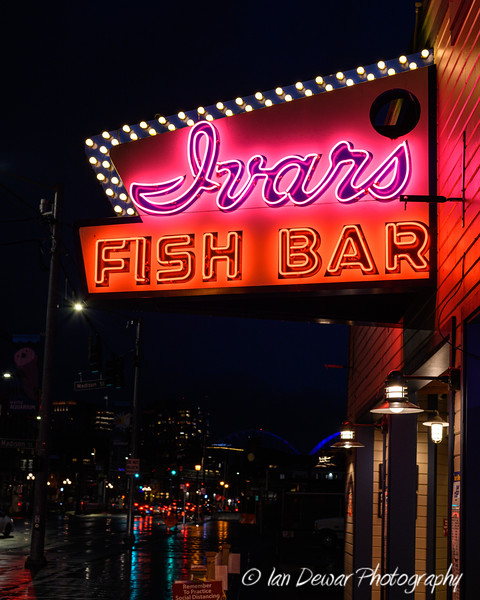 Ivar's Fish Bar at Pier 54 in Seattle