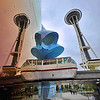 Seattle - Space Needle & Music & SciFi Museum -