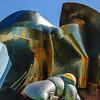 EMP Museum - A closeup of Seattle's EMP Museum, designed by Frank Gerhy.