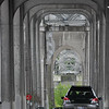 """bridge at """"Attle"""" troll in Fremont, Seattle -"""