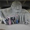 """Attle"" troll in Fremont, Seattle - Q family"