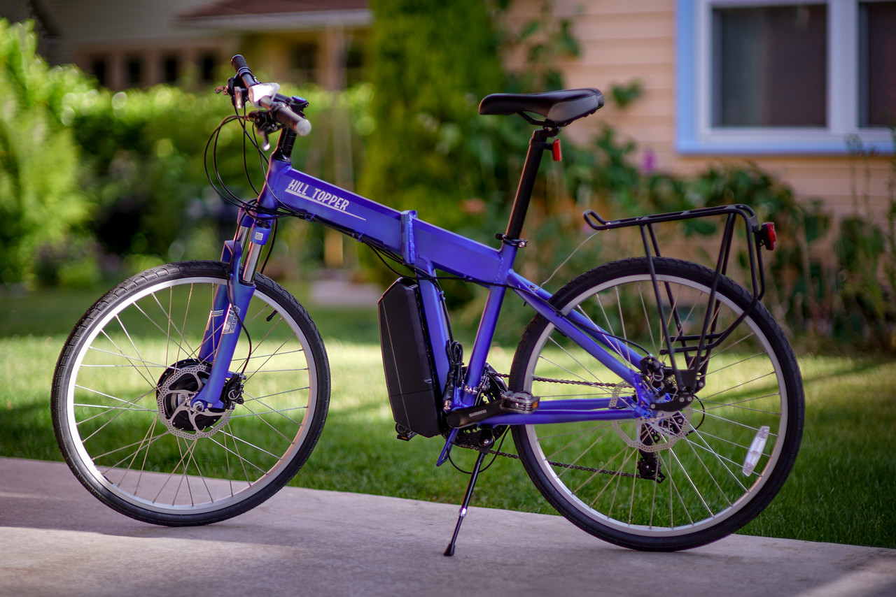 electric bicycles, travel, explore,photography,seattle, hill topper