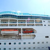 First day of cruise. Photos of the boat exterior