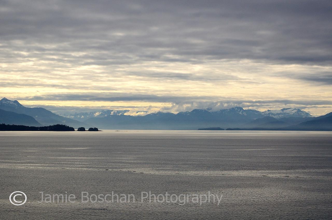 Day 3 of Cruise. Cruising through the Alaska Inside Passage.