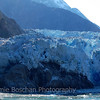 Day 5. Mountains and Glaciers in Tracy Arm Fjord, Alaska Inside Passage, Alaska.