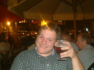 Ed with Beer