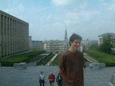 Seb in Brussels