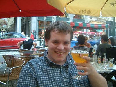 Ed with Westmalle