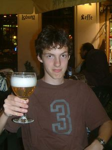 Seb with Westmalle
