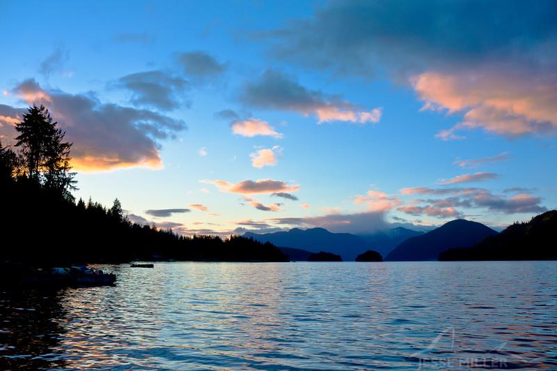 Beautiful Skyline in BC