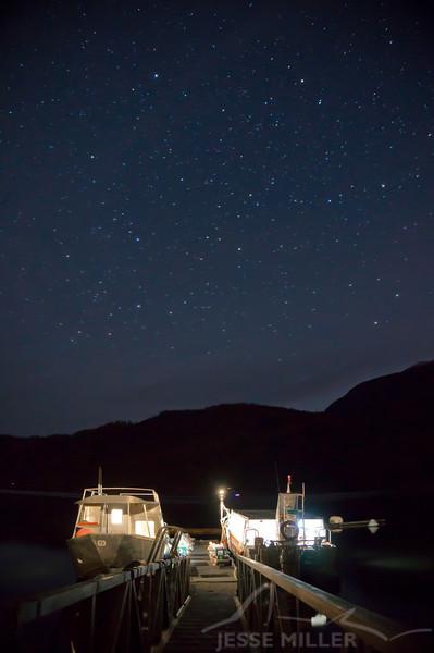 Kal Filling Tanks under the Stars