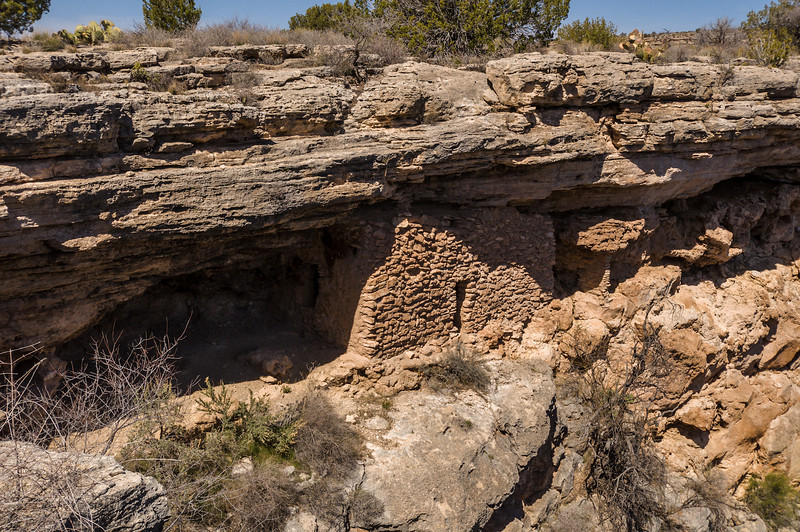 Pueblo Structure at Montezuma's Well