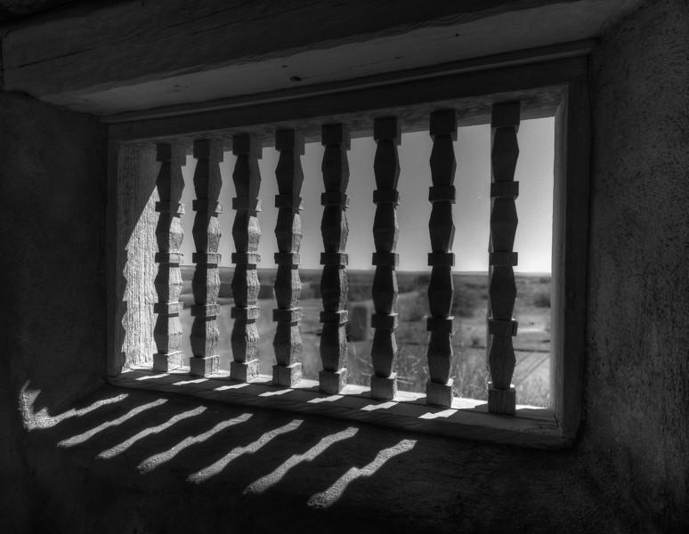 Adobe Window, Painted Desert Inn