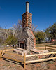 VBarV Heritage Site, Settler's Cabin Chimney