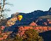 Morning Balloon Flight, Sedona