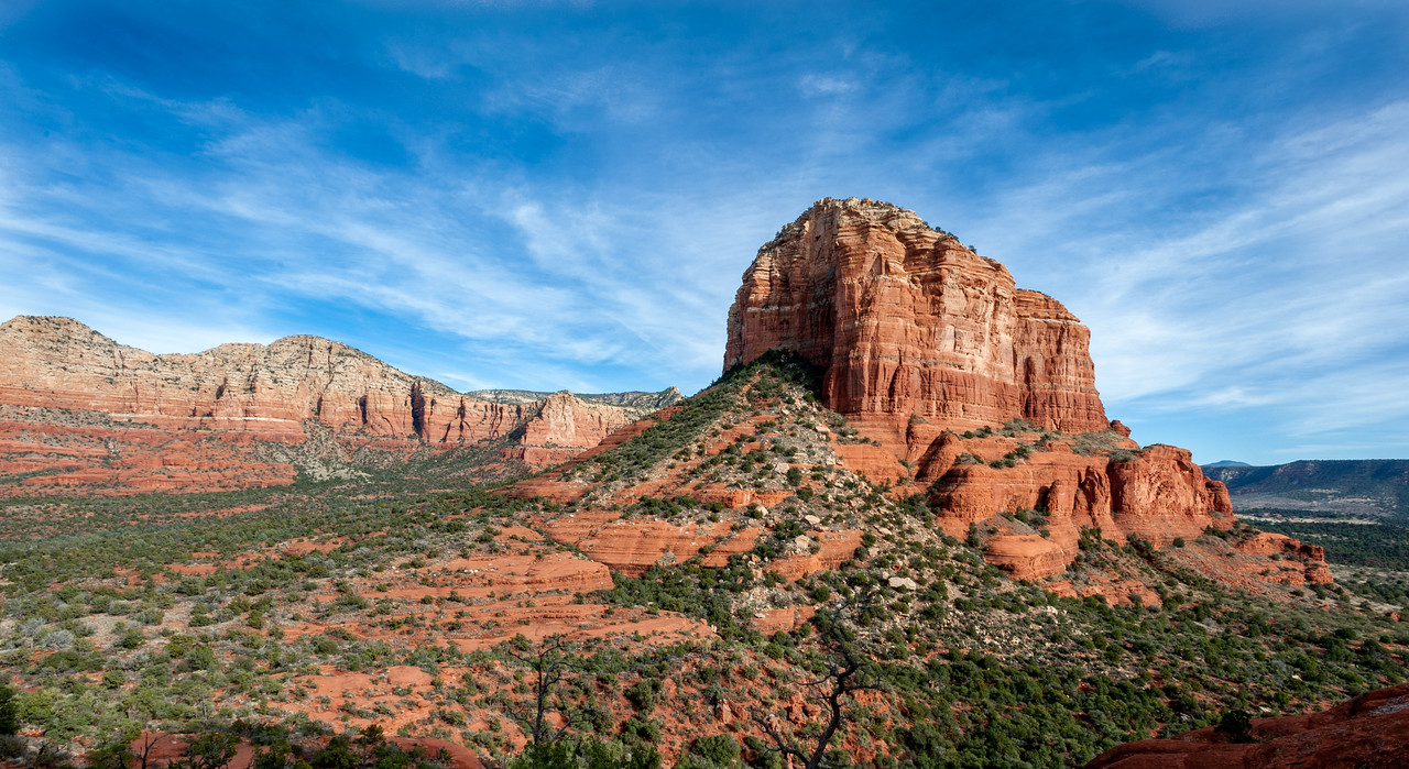 Courthouse Butte Rock