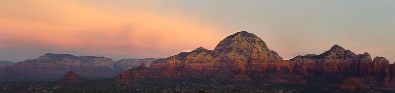 Thunder Mountain at sunrise.