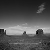 Monument Valley - View of The Mittens