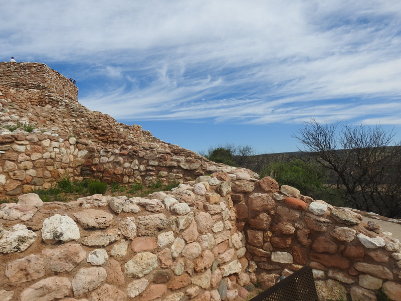 The Sinagua are a distinct tribe from the Anasazi and were farmers in the Verde Valley.