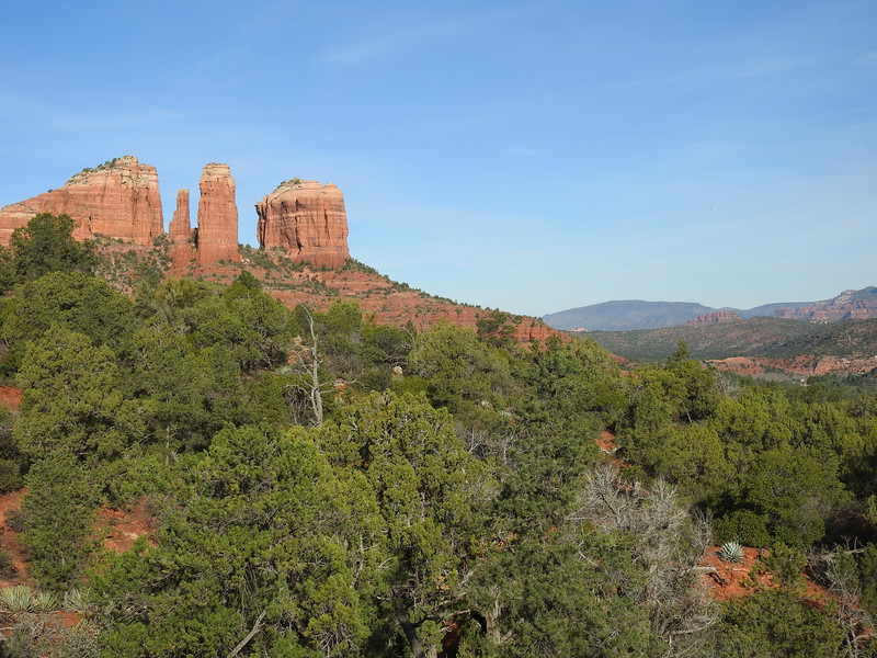 Our first destination was Cathedral Rock.