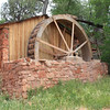 Water mill at red rock crossing.