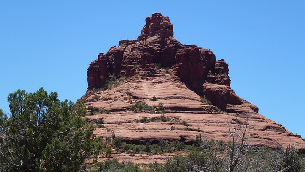 back view of Bell Rock